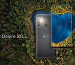 Le HTC Desire 20 Pro est disponible en précommande pour 279 €
