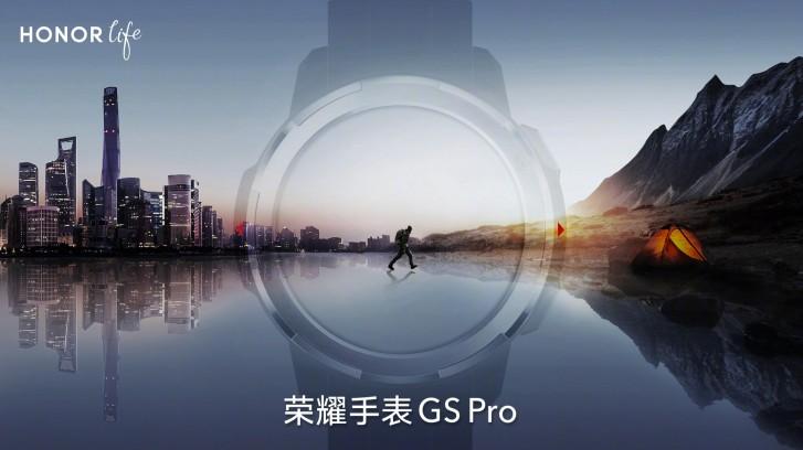 Montre connectée GS Pro Honor