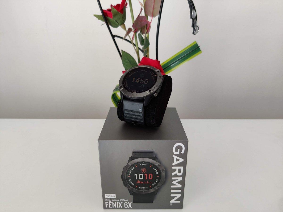 Garmin fénix 6X Pro Solar - Logo test