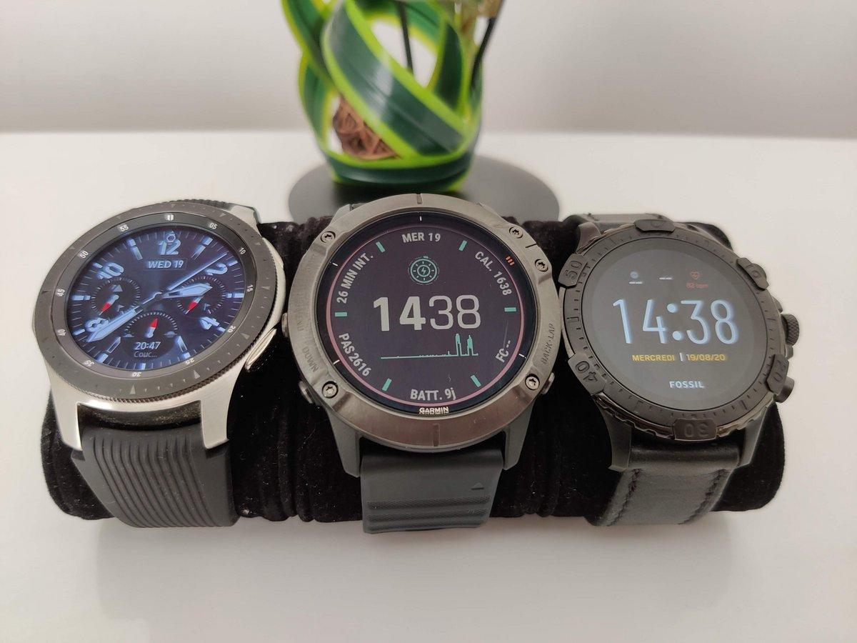 Garmin fénix 6X Pro Solar - Comparaison smartwatch