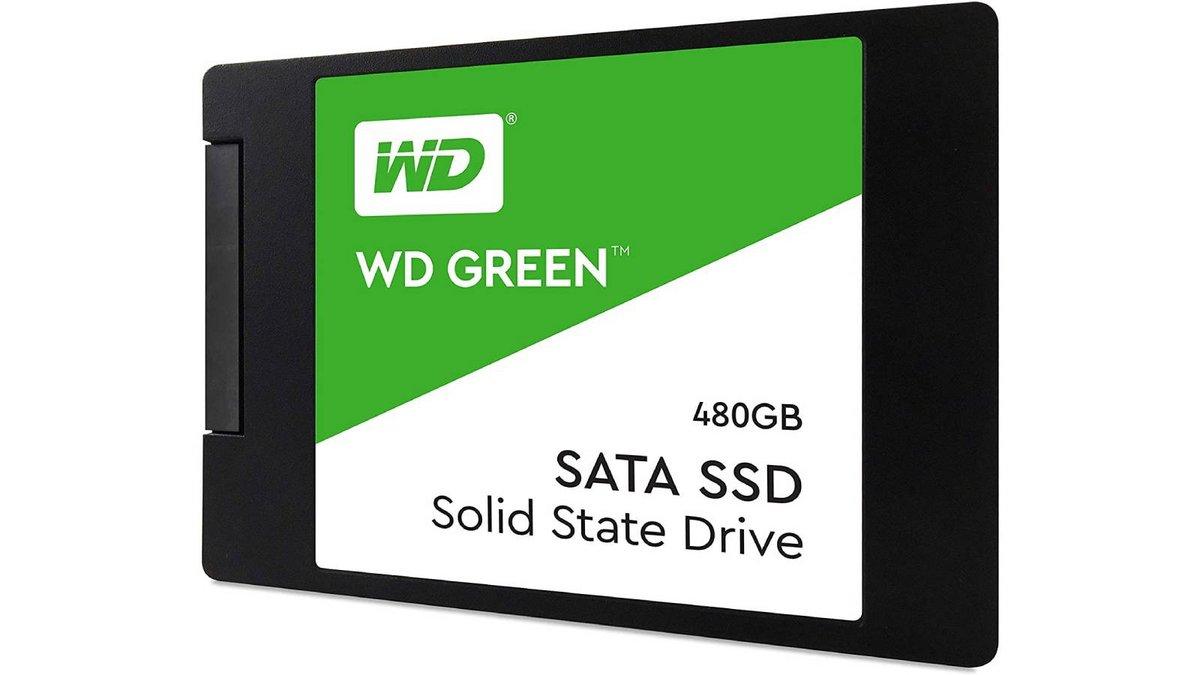 SSD interne Western Digital Green 480Go