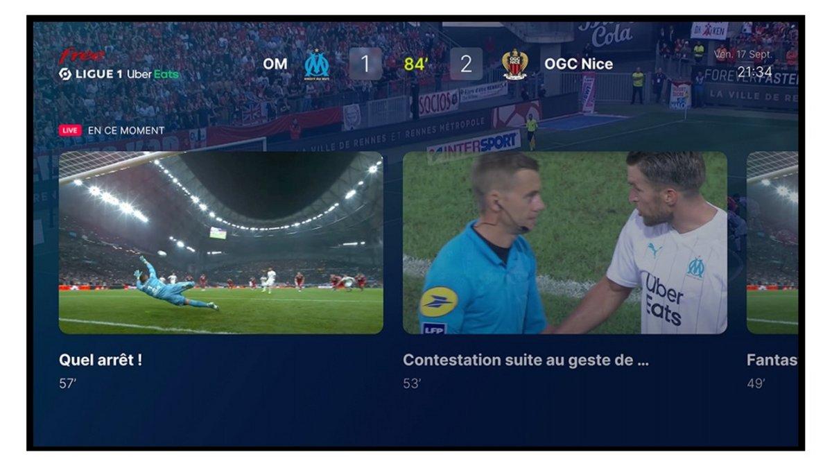 Free Ligue 1 Uber Eats capture