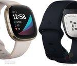 Fitbit : les nouvelles Versa 3 et Sense fuitent en photo