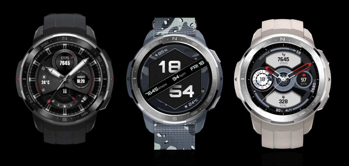 Honor Watch GS Pro modèles