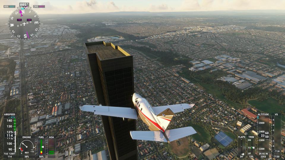 Flight Simulator 2020 © Engadget