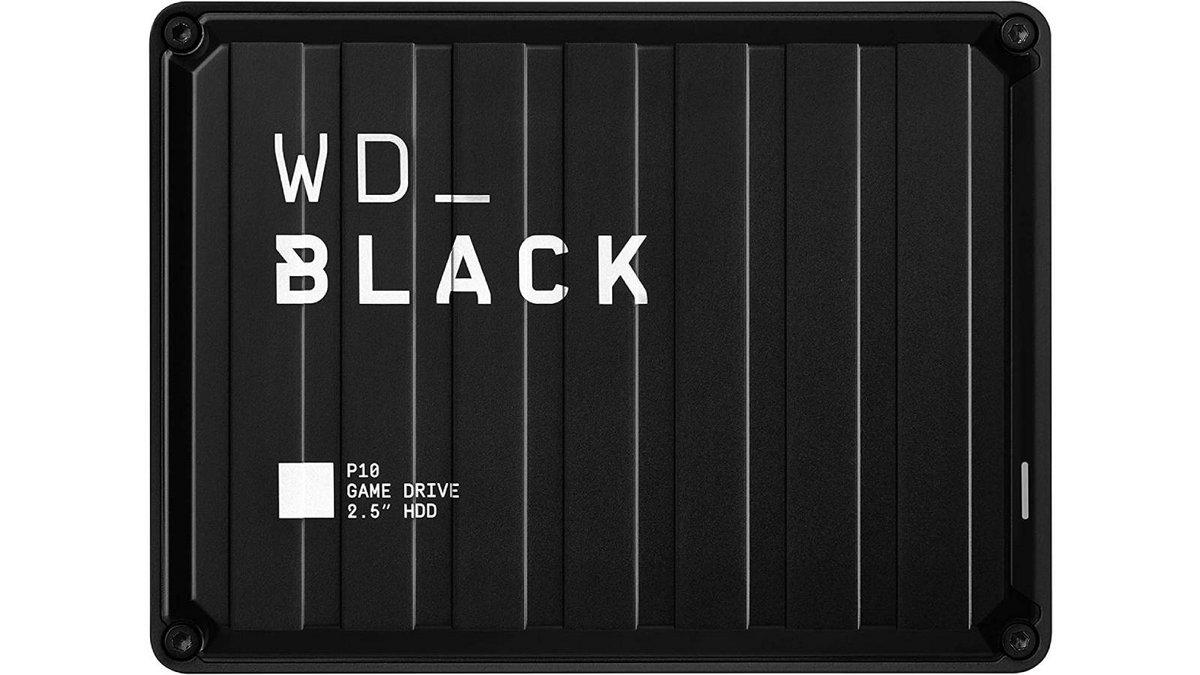 disque dur portable externe WD Black P10 5To