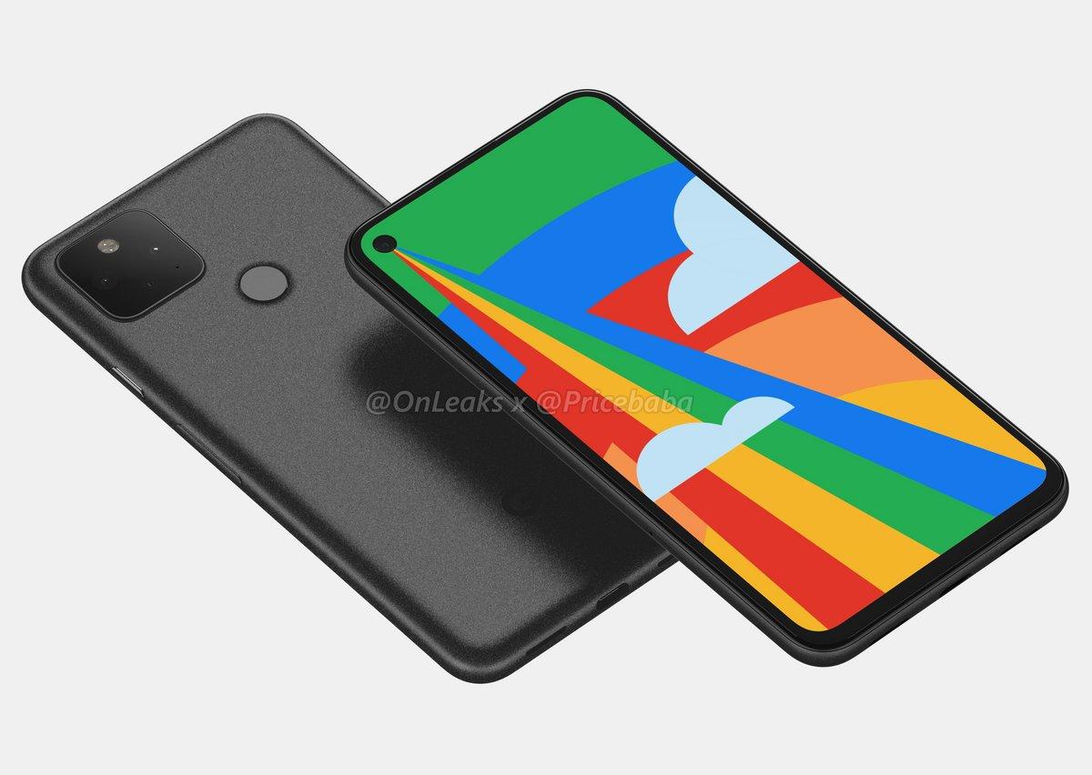 Google Pixel 5 © © OnLeaks x Pricebaba