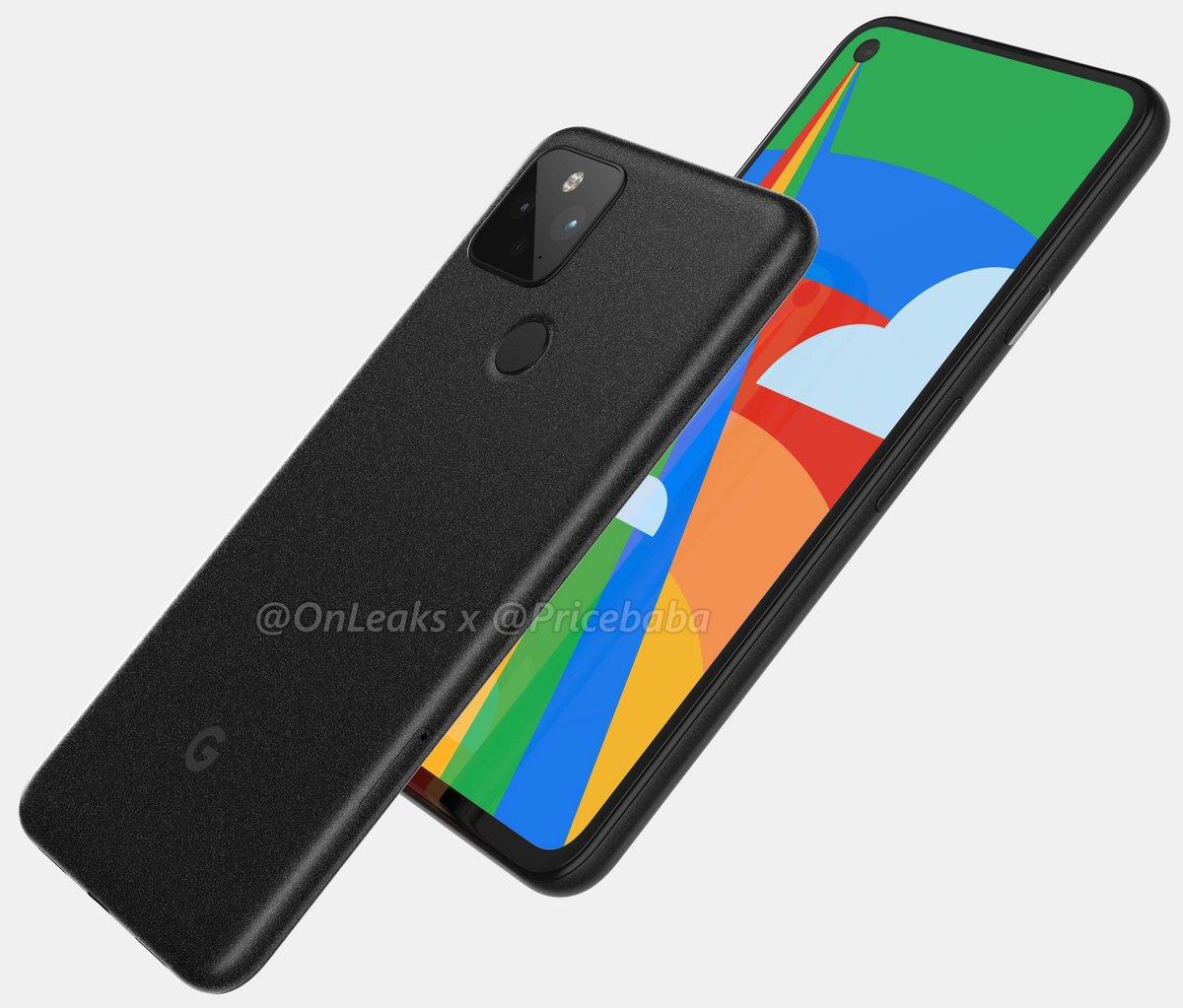 Google Pixel 5 © ©OnLeaks x Pricebaba