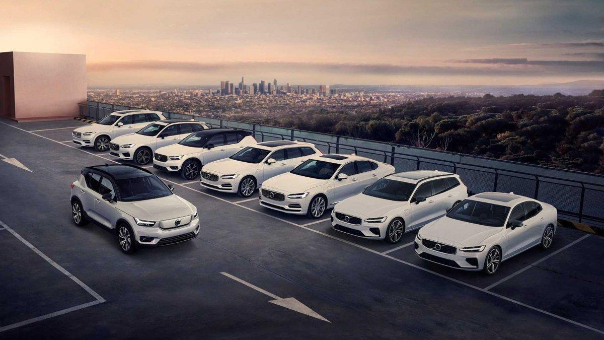 La gamme hybride rechargeable de Volvo © Volvo
