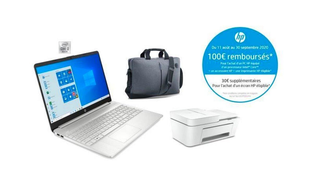 Le pack rentrée PC Portable HP 15
