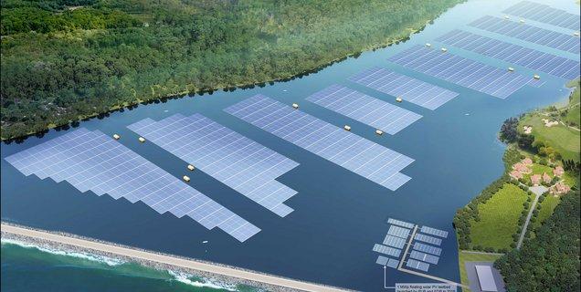 À Singapour, une ferme solaire équivalente à 45 terrains de foot va être construite