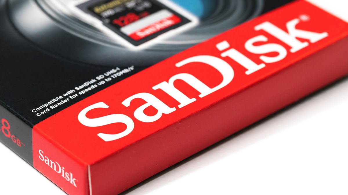 Sandisk boîte