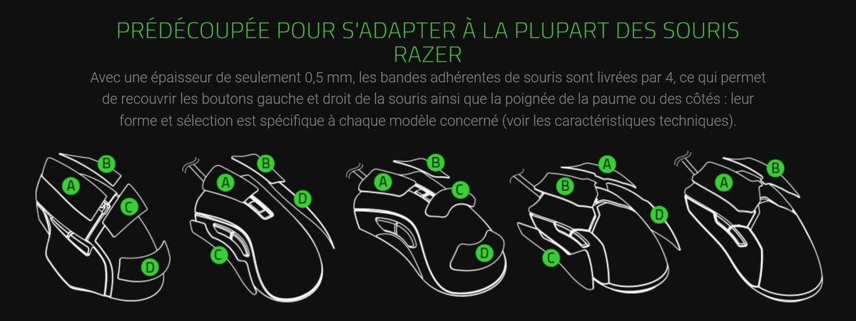 Razer Mouse Grip Tape © Razer