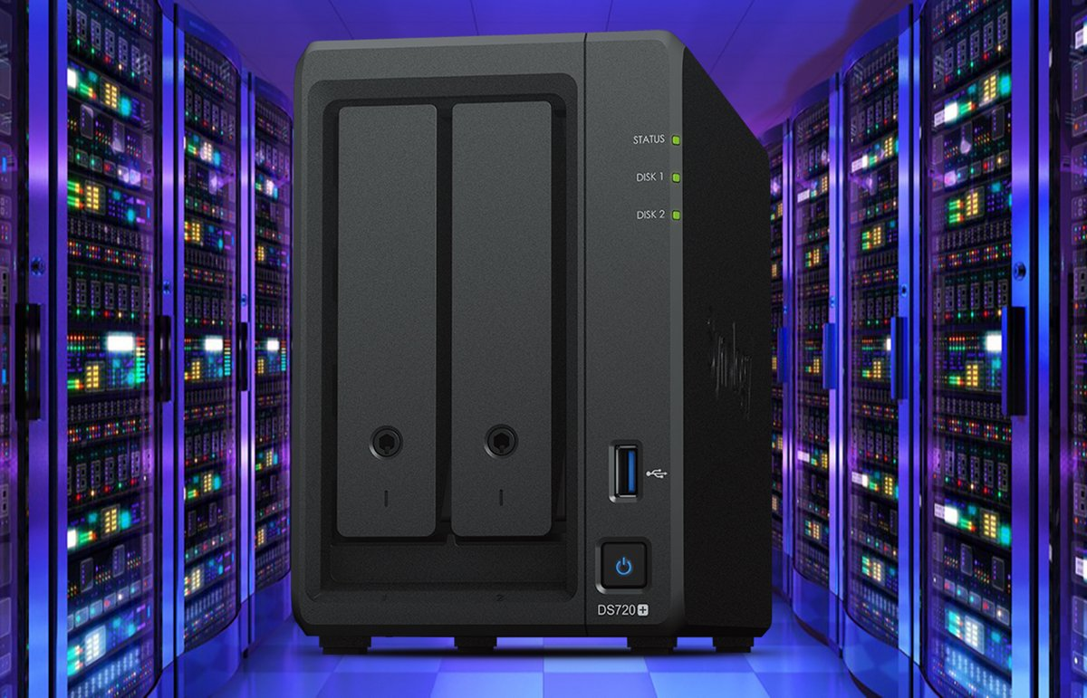 Synology DS720+ © Nerces