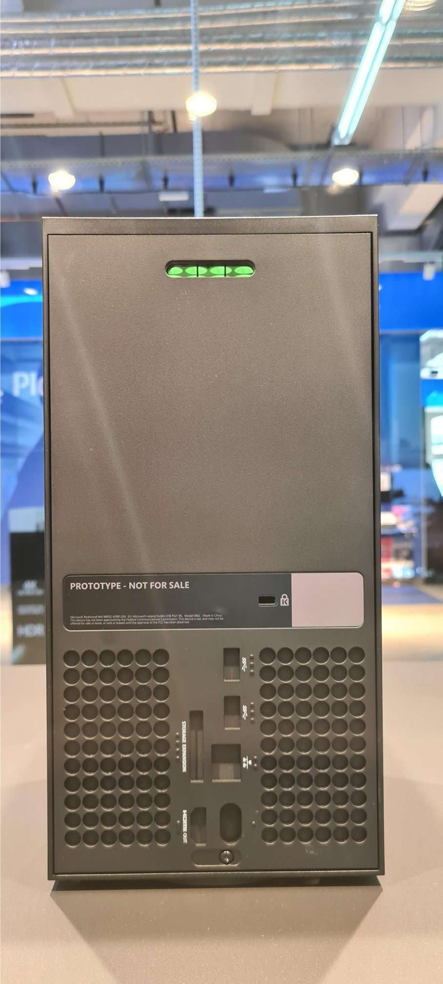 Xbox Series X prototype © Reddit