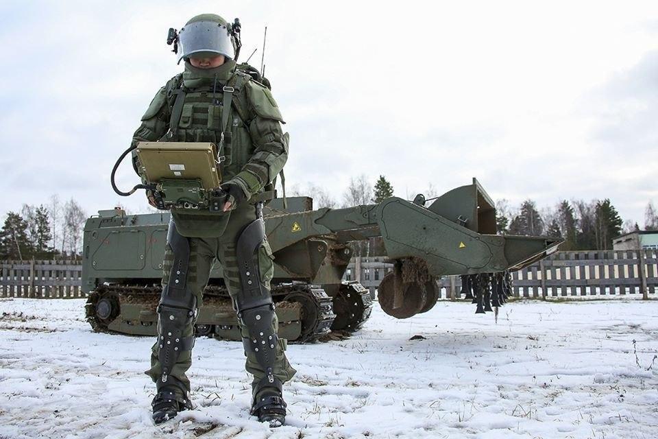 Exosquelette Ratnik EO-1 © Ministère de la Défense russe