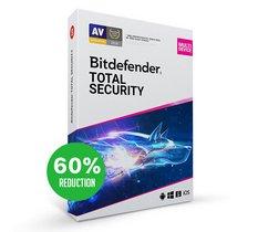Besoin d'un antivirus pas cher ? Bitdefender Total Security est exceptionnellement à -60%