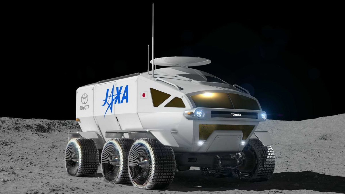 JAXA Toyota Lunar Cruiser Lune © Toyota/JAXA