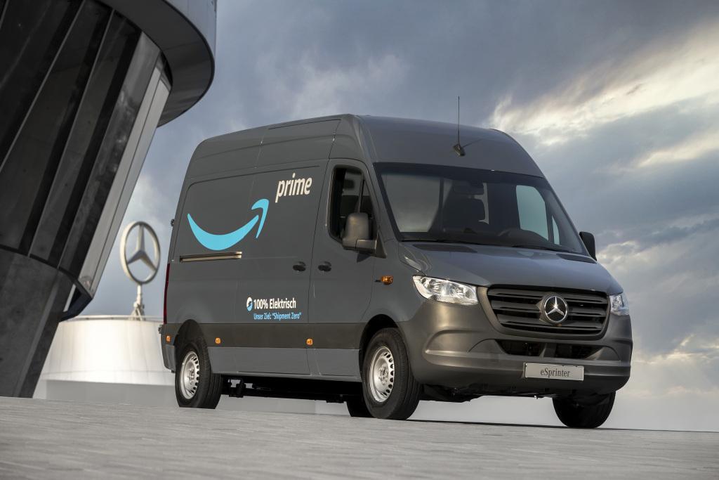 Mercedes van électrique