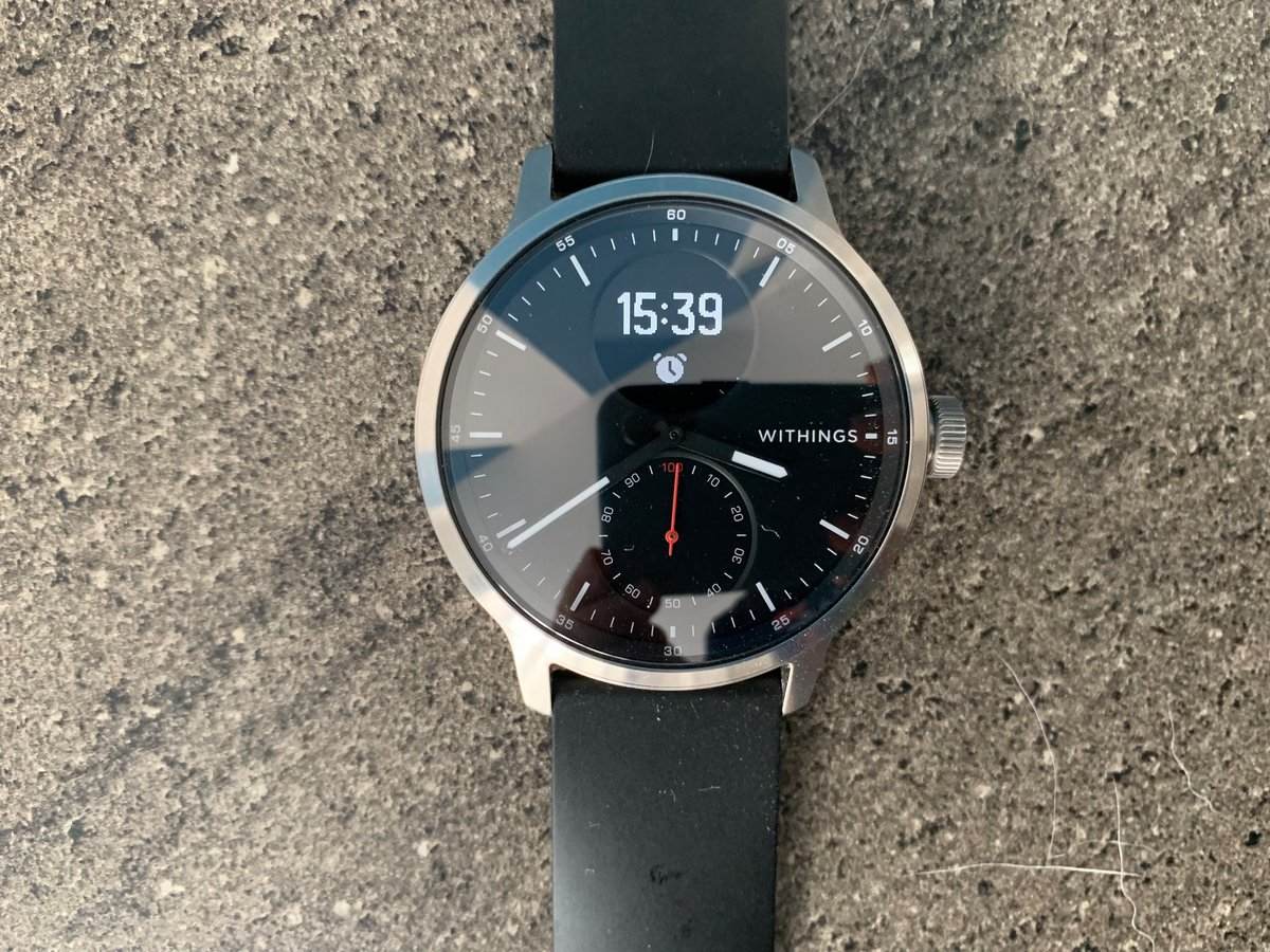 Test Withings Scanwatch © Mathieu Grumiaux pour Clubic