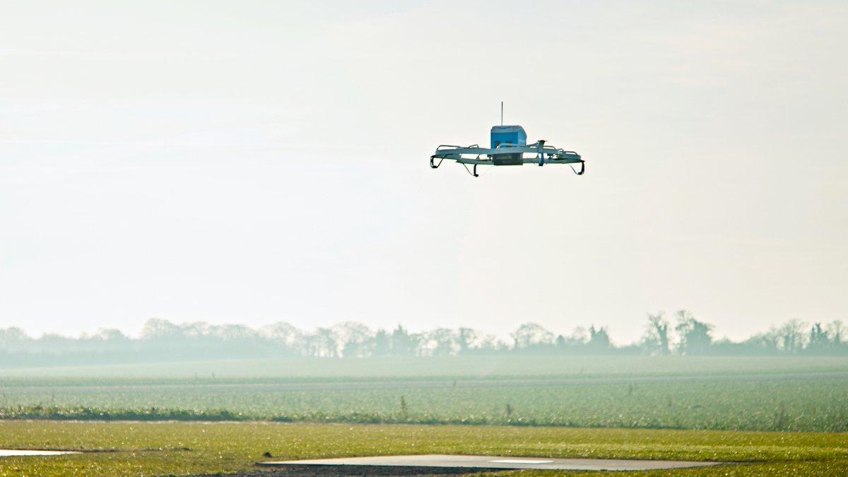 Amazon Prime Air drone © Amazon