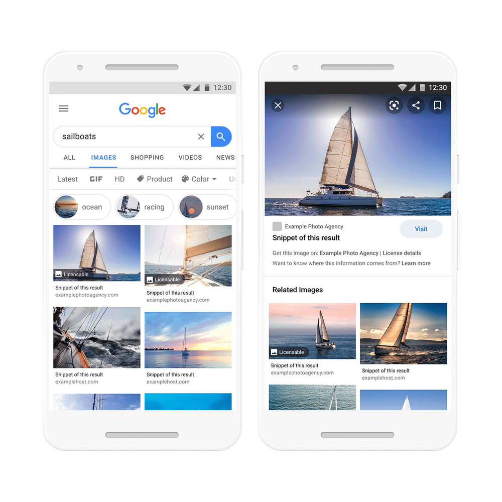 Google Images © Google