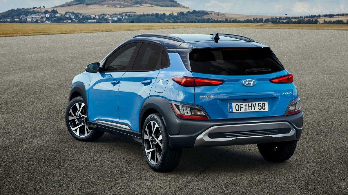 Hyundai Kona EV PHEV © Hyundai