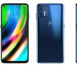Le Motorola Moto G9 Plus fuite chez Orange : batterie 5000 mAh, module photo 64 MP pour 255 €