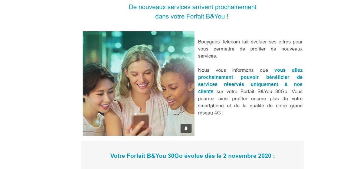 Bouygues Telecom hausse de prix