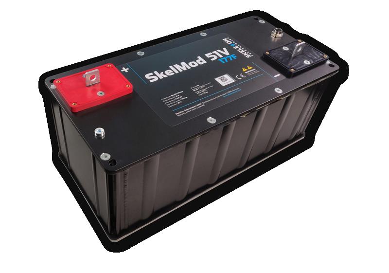 Batterie Skeleton technologies