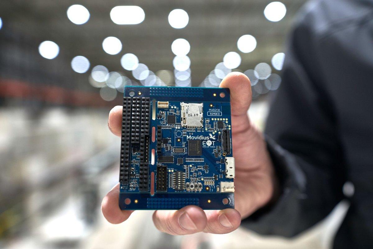 ESA intelligence artificielle satellite processeur © CERN/M.Brice