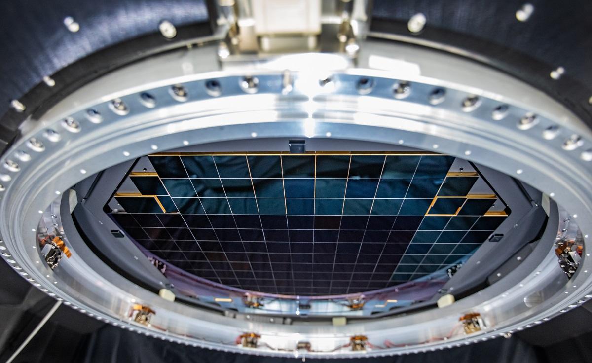 Capteur photo 3 200 mégapixels © Jacqueline Orrell/SLAC National Accelerator Laboratory
