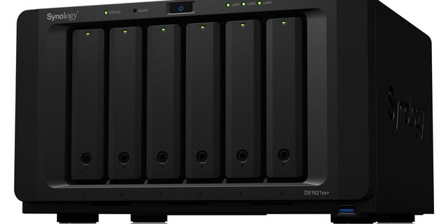 Synology lance le DS1621xs+ : processeur Xeon, mémoire ECC et réseau 10 GbE