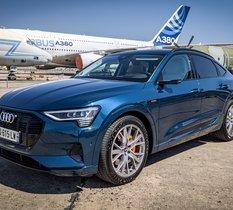 Essai Audi e-Tron Sportback 55 Quattro : une touche de sportivité et d'endurance en plus