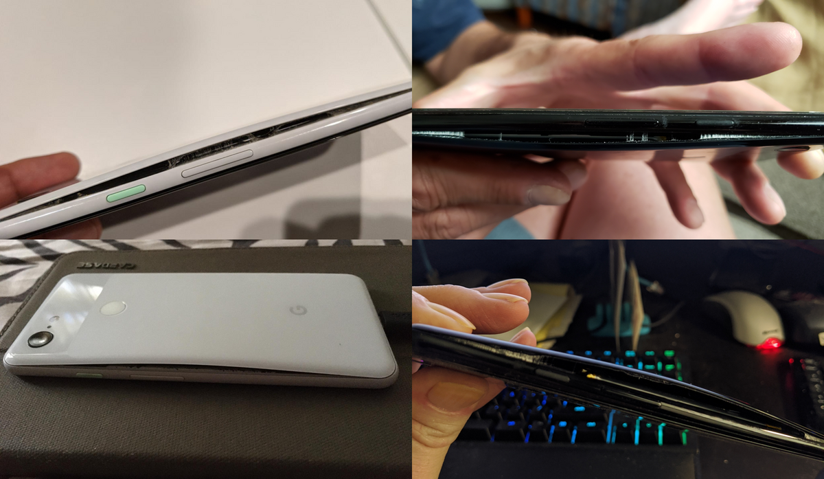 Pixel 3 batterie qui gonfle © Android Police