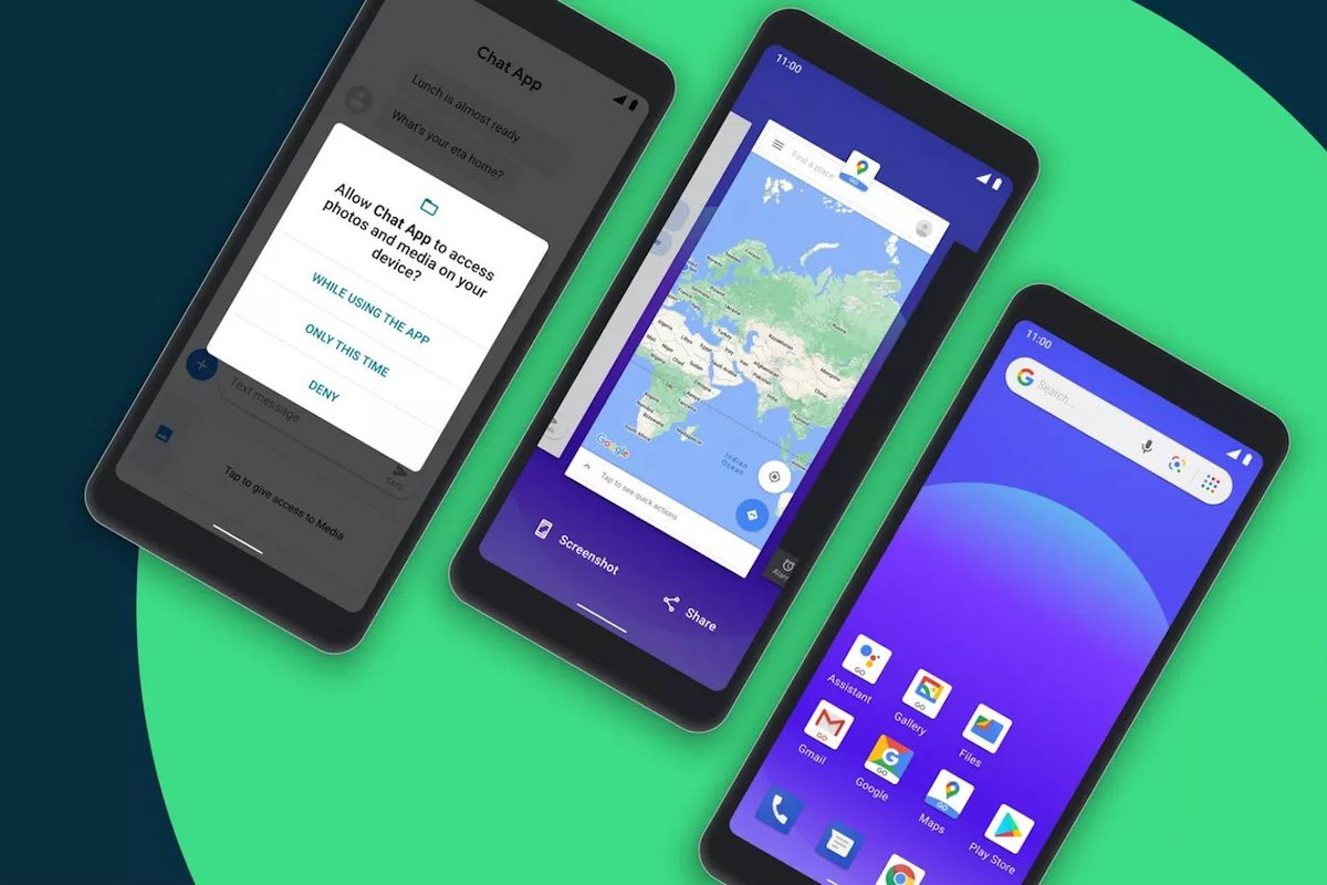 raw accept?width=1200&fit=max&hash=e2bbec894621f092265cfc917c59c695cb2a794c - Google announces the GB version of Android 11 for smartphones with 2 GB of RAM - Clubic