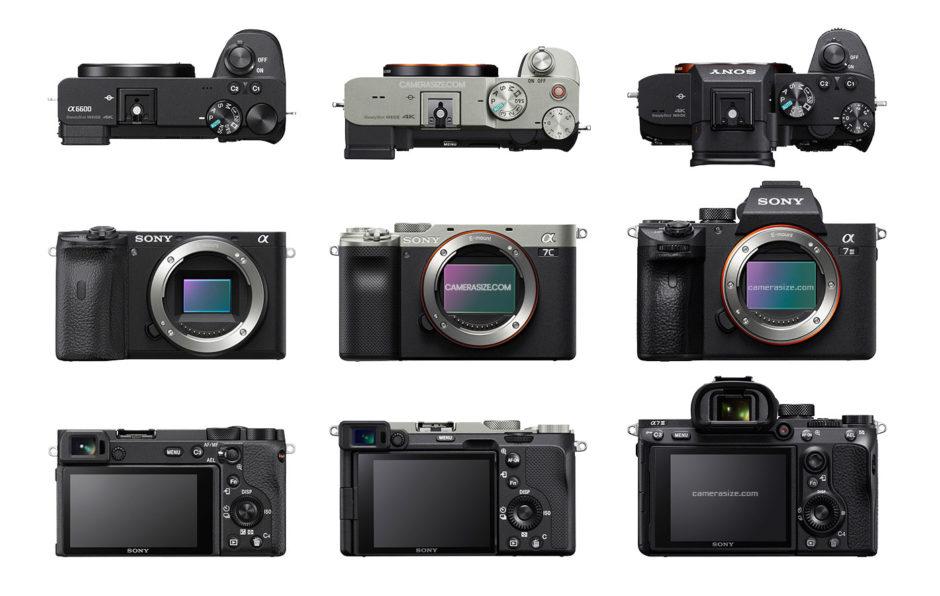 Sony Alpha 7C © © Camera Size