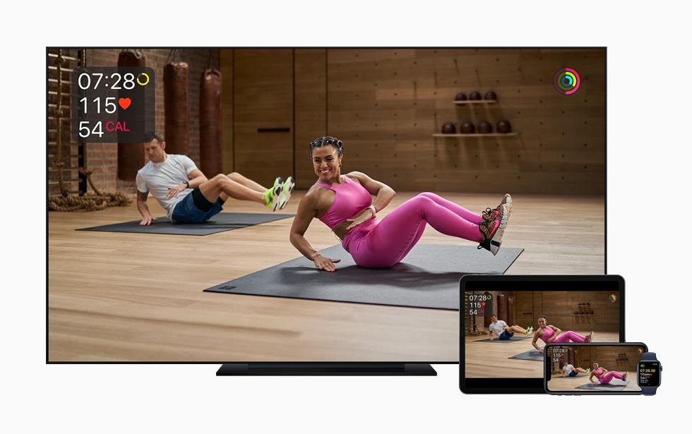 Apple Fitness+ © ©Apple