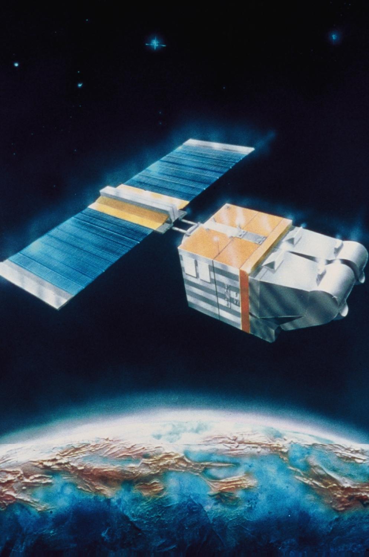 SPOT-1 satellite © CNES