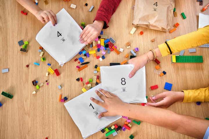 LEGO sachet papier