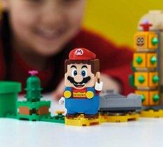 Jouer a Super Mario avec ses Lego Mario... c'est fait !