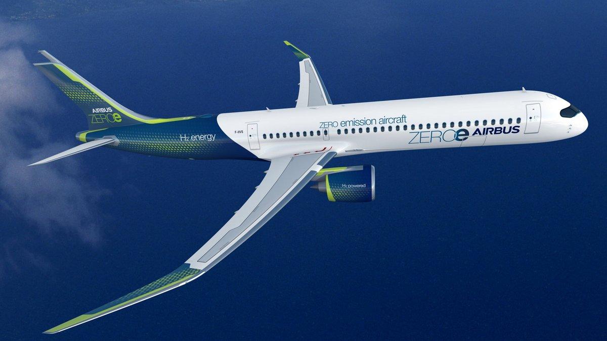 AirbusZEROe Turbofan Concept © Airbus
