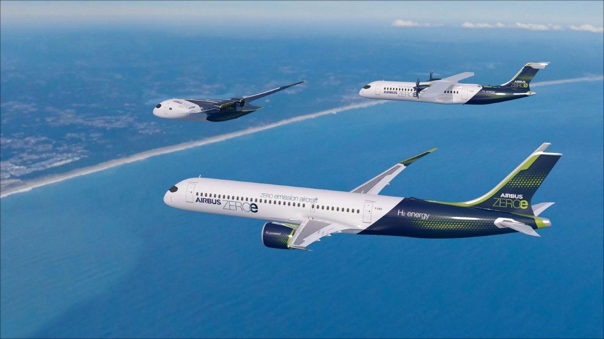 ZEROe concept Airbus © Airbus
