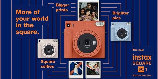 Fujifilm lance son nouvel appareil photo instantané, le Instax Square SQ1