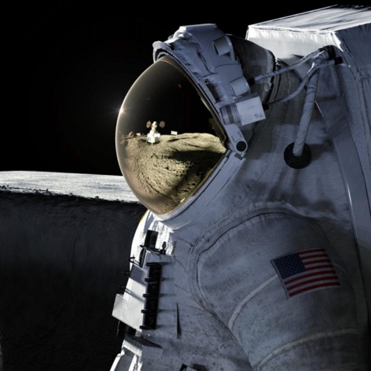 Artémis Lune Terre logo © NASA