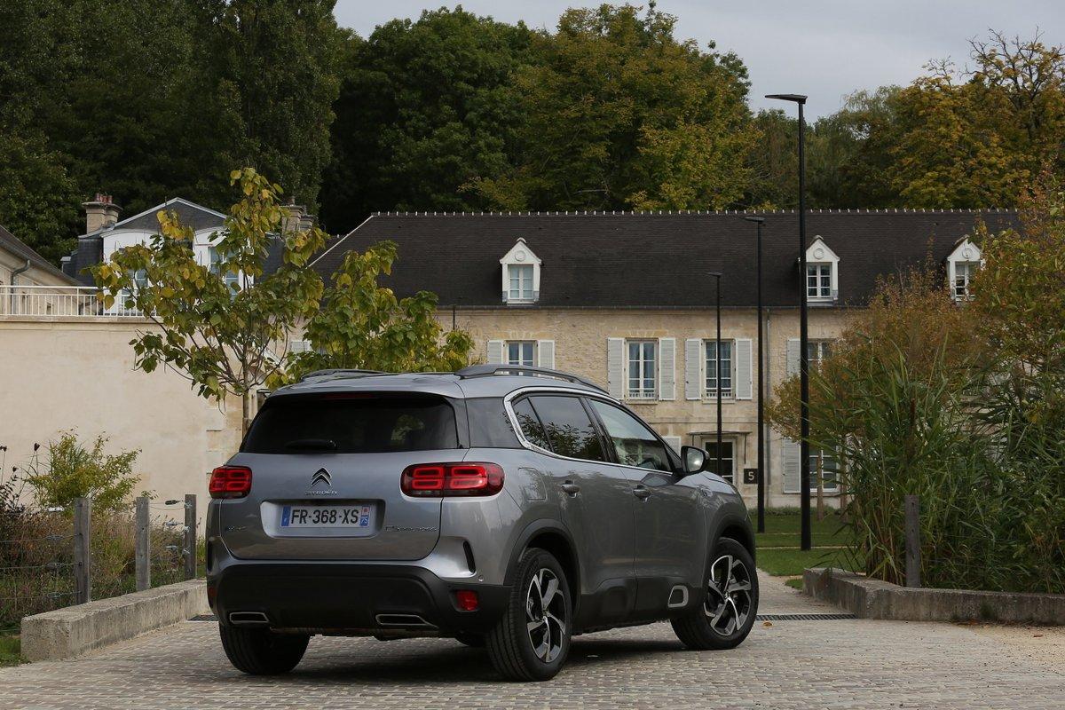Citroën C5 hybride rechargeable © Camille Pinet