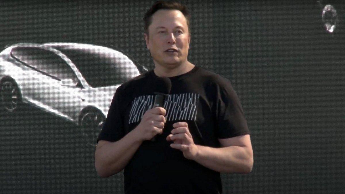 Elon Musk, Battery Day © Vidéo Tesla