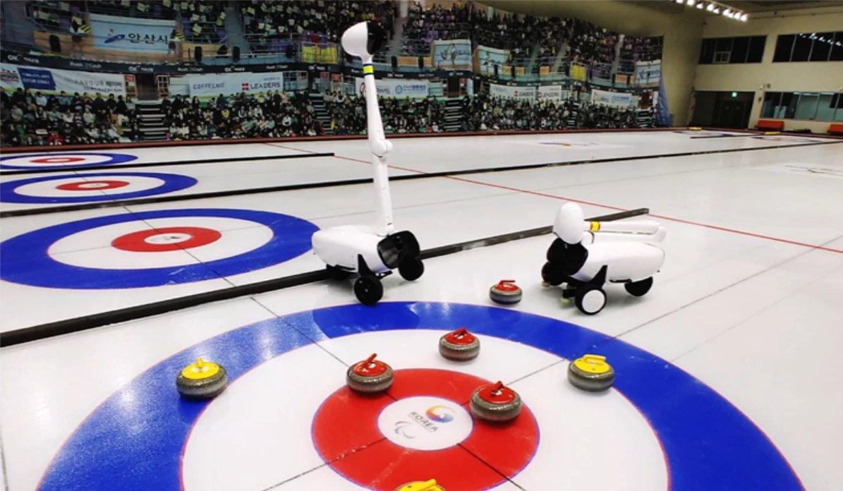 Un robot doté d'IA bat l'équipe féminine coréenne de curling, et sans balai !