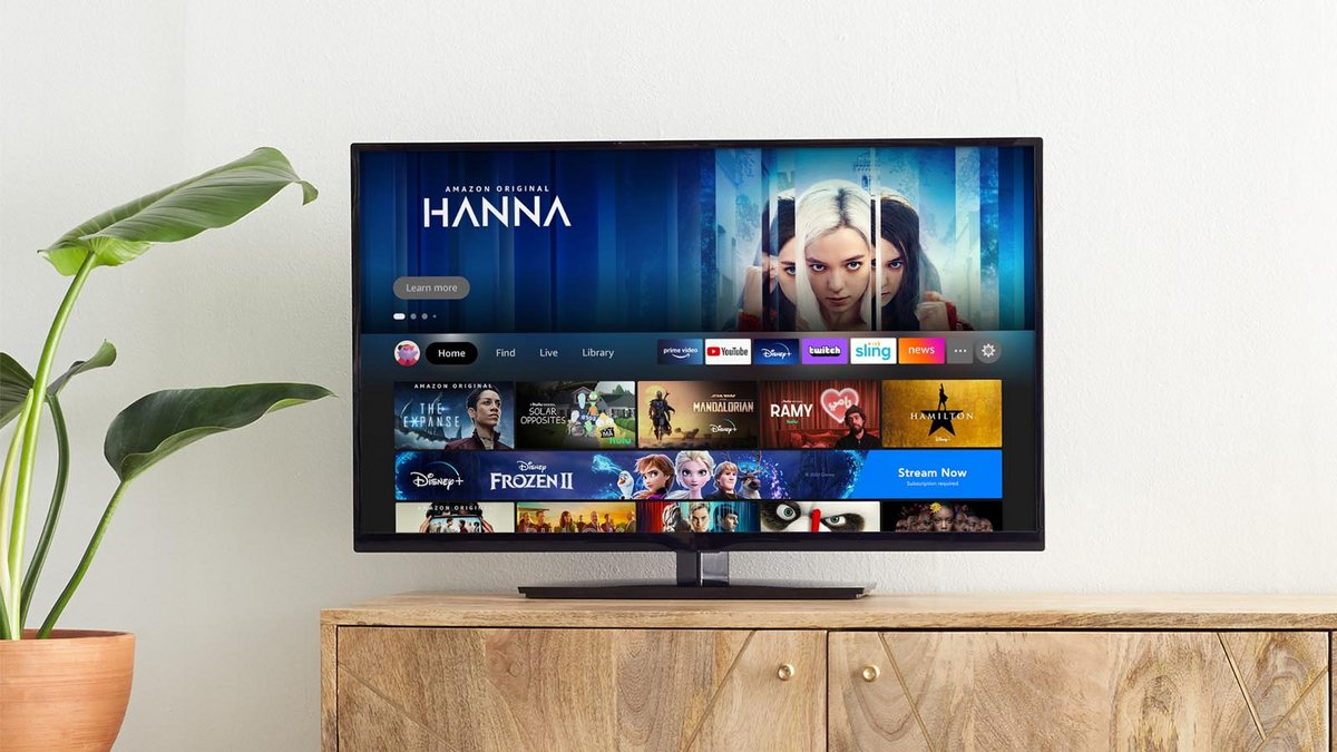 Fire TV Experience Home © Amazon