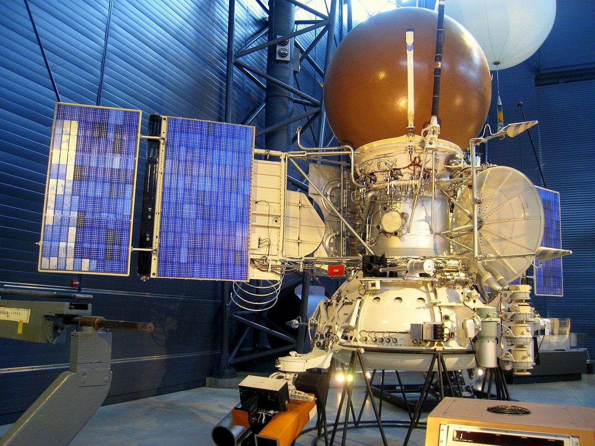 Vega-1 sonde URSS maquette © Daderot/Wikipedia